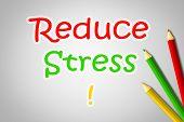 Reduce Stress Concept