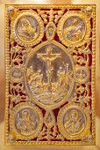 image of gospel  - The Gospel Book Evangelion or Book of the Gospels - JPG