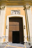 foto of pilaster  - Mother Church of Oriolo - JPG