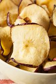 Baked Dehydrated Apples Chips