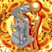 3D Biohazard Concept