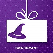 foto of applique  - Applique card or background with magic hat - JPG