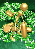 3D Medication Concept