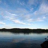 Lower Saranac Lake Panorama