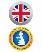 Button As A Symbol Of England