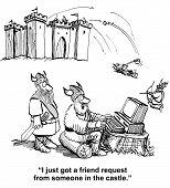 Social Media Friend Request
