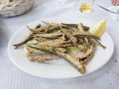 Fried Sardine Dish