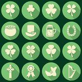 pic of irish  - vector set of irish St - JPG