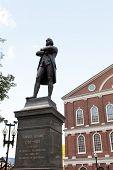 Samuel Adams Statue Boston
