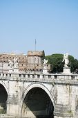 View of Castel Sant Angelo in Rome, Italy