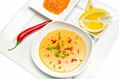 picture of tripe  - Mercimek Corbasi is a traditional Turkish lentil soup - JPG