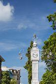 Victoria Clock Tower, Mahe, Seychelles