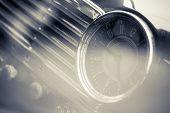 Vintage Car Clock