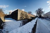Medieval Uzhgorod Castle - Extensive Citadel On A Hill In Uzhhorod With Big Moat ,Ukraine