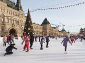 Christmas Holidays On The Red Square
