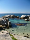 Tranquil Beach and Boulders
