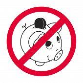 Piggy Sign