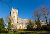 Christchurch Priory Dorset England UK 11th century Grade I listed church in town centre