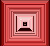 Red Abstract Design