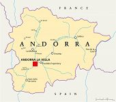 Andorra Political Map