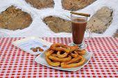 Churros and Hot Chocolate.