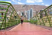 Via Balcon Pedestrian Path in La Paz, Bolivia