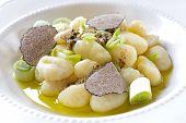 Italian Gnocchi With Onion And Truffle