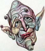 Hideous face