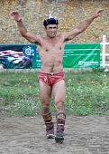 Mongolian Wrestler Winner