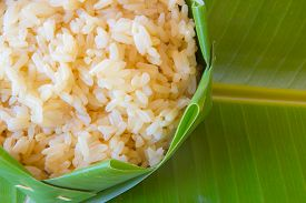 picture of rice  - GA BA rice or Germinated brown rice  are high quality rice - JPG