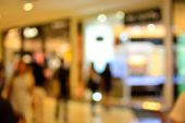 picture of department store  - Blur or Defocus of People Shopping in Department store with Bokeh as Background - JPG