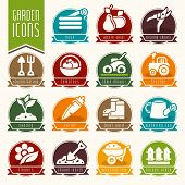 image of water bug  - Quality set of icons gardens and agriculture - JPG