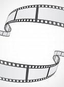 stock photo of strip  - film reel strip abstract frame background design - JPG