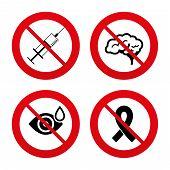 foto of breast cancer awareness ribbon  - No - JPG