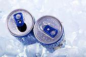 Energy drink closeup