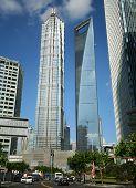 Un vistazo al Jin Mao y edificios SWFC