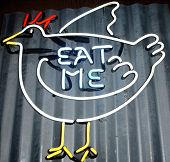 stock photo of eat me  - a lit - JPG