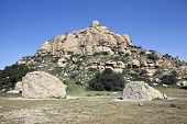 Famous Stoney Point Park In Los Angeles, California