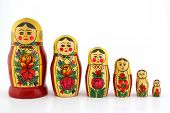Matreshka. Traditional Russian Wooden Doll
