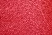 Crimson leatherette texture