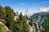 Scenery in the swiss alps