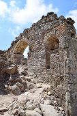 Ancient Stone Ruins, Arches, History Of Ancient Turkey poster