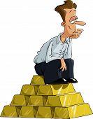 Man On Gold