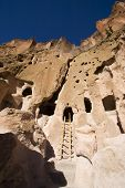 Bandelier New Mexico Cliff Dwellings