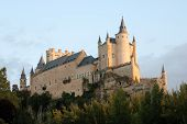pic of zar  - The famous Alcazar of Segovia in Spain - JPG