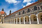 The Stallhof in Dresden, Saxony