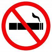 No Smoke Sign, Icon No Smoking, Banner No Smoking poster
