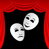 Theatrical Masks.