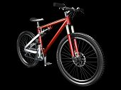 3D Mountain Bike Front