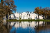 Chinese Palace In Oranienbaum, A Russian Royal Residence, Located On The Gulf Of Finland West Of Sai poster